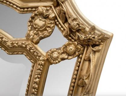 Casa Padrino Barock Wandspiegel Gold 115 x H. 207 cm - Barockstil Spiegel Antik Stil Möbel - Vorschau 3