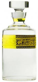 Casa Padrino Luxus Barock Whisky Karaffe Gold Ø 12, 5 x H. 20 cm - Mundgeblasene und handgravierte Glas Karaffe - Hotel & Restaurant Accessoires - Luxus Qualität - Vorschau 5