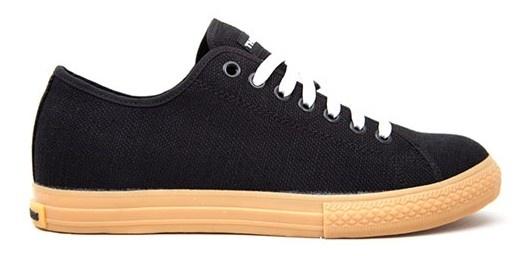 The Hundreds Skateboard Schuhe- Valenzuel A Low-- Black
