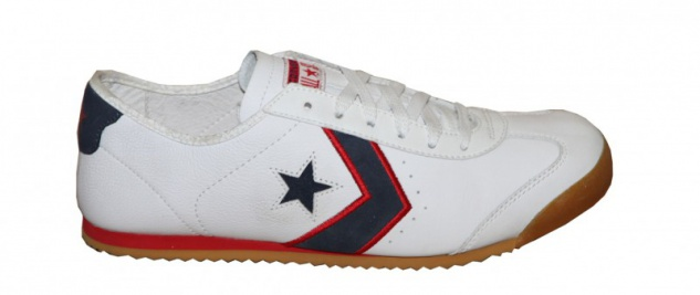 Converse Sneakers Schuhe MT Star 3 OX White/ Navy/ Red Skateboard Shoes