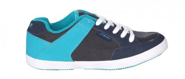 Circa Skateboard Damen Schuhe 205 Vulc Blue/Turquoise/ White sneakers shoes