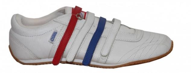 Osiris Skateboard Schuhe Clover White/ Red/ Blue