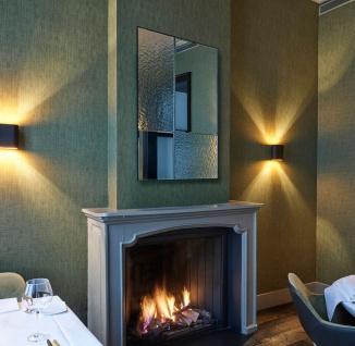 Casa Padrino Luxus Wandspiegel Schwarz 80 x 2 x H. 120 cm - Hotel & Restaurant Spiegel - Luxus Kollektion - Vorschau 5