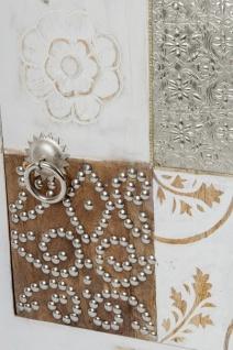 Casa Padrino Landhausstil Shabby Chic Kommode mit Tür Antik Weiß / Mehrfarbig 40 x 32 x H. 50 cm - Landhausstil Möbel - Vorschau 4