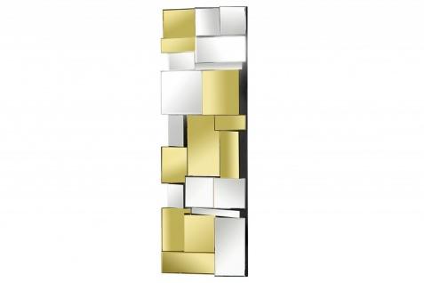 Casa Padrino Designer Wandspiegel Mehrfarbig 40 x H. 120 cm - Luxus Wohnzimmer Spiegel