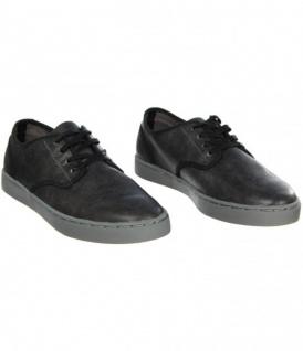 Kr3w -- Krew Dirty Skateboard Schuhe- Grant Low-- Dirty Krew Denim Leather 314fee
