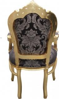 Casa Padrino Barock Esszimmer Set 4 Stühle Ohne Armlehnen 2 Stühle