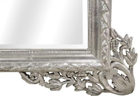 Casa Padrino Barock Wandspiegel Silber 190 x H. 155 cm - Wohnzimmer Spiegel im Barockstil - Vorschau 4