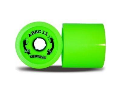 ABEC 11 Reflex Centrax Lime 80A 83mm Rollen (4 Stück) - Longboard Wheel Set - Wheels