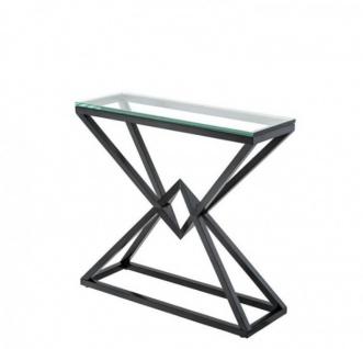 Casa Padrino Luxus Konsole Bronze 90 x 30 x H. 82 cm - Konsolen Tisch Möbel