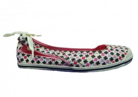 Etnies Damen Ballerinas Slingshot White/Black/Pink