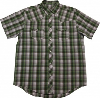 Fallen Skateboard Hemd Green/Grey Plaid