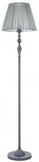 Casa Padrino Barockstil Stehleuchte Antik Grau Ø 37 x H. 159 cm - Barock Stehlampe