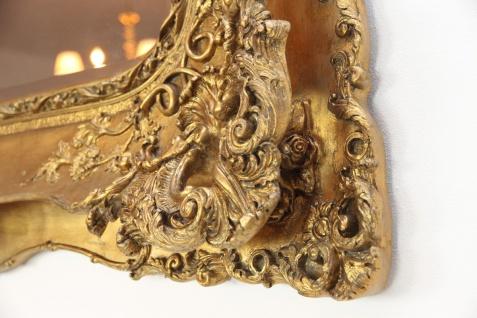 Casa Padrino Barock Spiegel Gold Antik Stil mit Doppelrahmen - 120 x 105 cm - Edel & Prunkvoller Wandspiegel - Vorschau 3