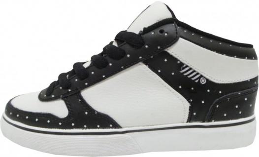 Circa Skateboard Schuhe 8WTK White/Black/Dots
