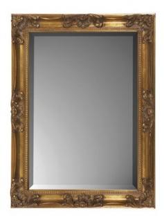 Casa Padrino Barock Wandspiegel Gold H 62 cm B 82 cm - Edel & Prunkvoll