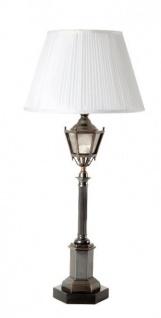 Casa Padrino Luxus Tischleuchte Antik Bronze Durchmesser 12 x 30 x H 67 cm - Luxus Hotel Restaurant Leuchte