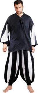 European Medieval Piraten / Mittelalter Set - Black - White