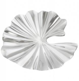 Casa Padrino Aluminium Schale 51 x 46 cm - Designer Obstschale
