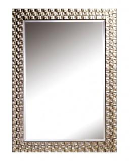 Casa Padrino Wohnzimmer Wandspiegel Silber 71 x H. 98 cm - Luxus Spiegel