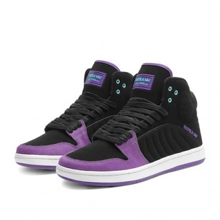 SUPRA Skateboard Schuhe S1W Williams Purple/Black/White