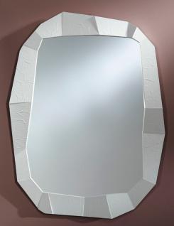 Casa Padrino Designer Wandspiegel Weiß 92 x H. 127 cm - Designer Spiegel