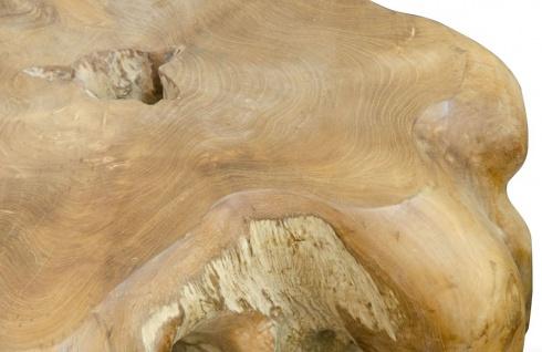 Casa Padrino Luxus Couchtisch / Beistelltisch Naturfarben 70 x 90 x H. 40 cm - Designer Möbel - Vorschau 5