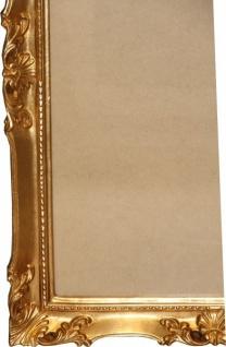 Casa Padrino Barock Holz Bilderrahmen 144 x 84 cm Gold - Großer Bilder Rahmen Foto Rahmen Jugendstil Antik Stil - Made in Italy - Vorschau 2