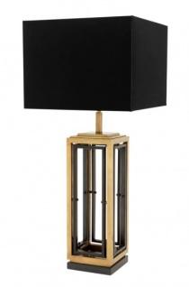 Casa Padrino Luxus Tischleuchte Rotguss Durchmesser 20 x 40 x H 96 cm - Leuchte - Tischleuchte