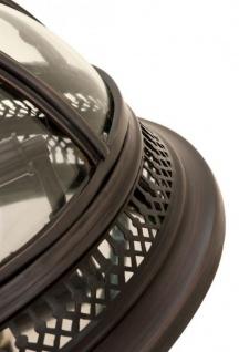 Casa Padrino Luxus Deckenleuchte Bronze Durchmesser 45 x H 30 cm Antik Stil - Möbel Lüster Deckenlampe - Vorschau 5