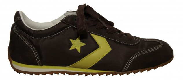 Converse Skateboard Schuhe Nylon Trainer Brown Sneakers Shoes