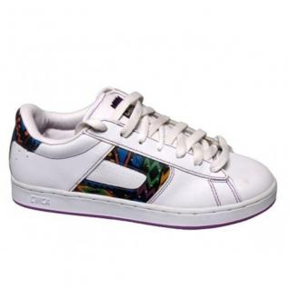 Circa Skateboard Schuhe -CXW105-- White/Radio Bronx