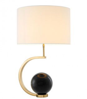 Casa Padrino Luxus Designer Tischleuchte 48 x H. 80 cm - Limited Edition