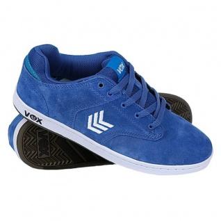 Vox Skateboard Schuhe Lockdown White Royal Blue White Lockdown White 6071ef