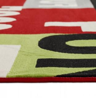 Casa Padrino Designer Teppich 160 x 230 cm Cool & Funky - Läufer - Vorschau 5