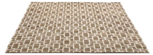 Casa Padrino Luxus Jute Teppich Naturfarben / Weiß 300 x 400 cm - Luxus Wohnzimmer Accessoires - Vorschau 3