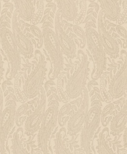 Casa Padrino Barock Wohnzimmer Tapete Creme / Beige 10, 05 x 0, 53 m - Hochwertige Textiltapete