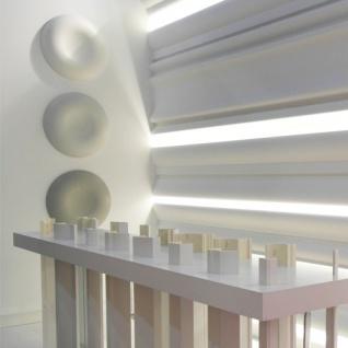 Casa Padrino Stuck Designer Rosette 60 x 60 cm Deckenstuck Deckenrosette Stuckrosette Wandrosette Barock Jugendstil - Vorschau 2