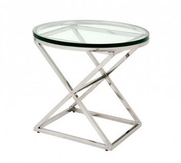 Casa Padrino Luxus Art Deco Designer Beistelltisch 59 x H. 54 cm - Hotel Tisch Möbel