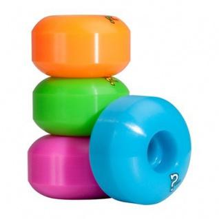 Enuff Skateboard Profi Wheel Set (4 Rollen) Disco - Skateboard Wheels 53mm / 101A