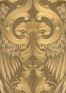 Harald Glööckler Designer Barock Tapete 52540 - Gold Engelsflügel