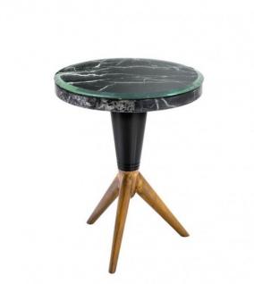 Casa Padrino Luxus Art Deco Designer Beistelltisch 36, 5 x H. 44 cm - Luxus Tisch