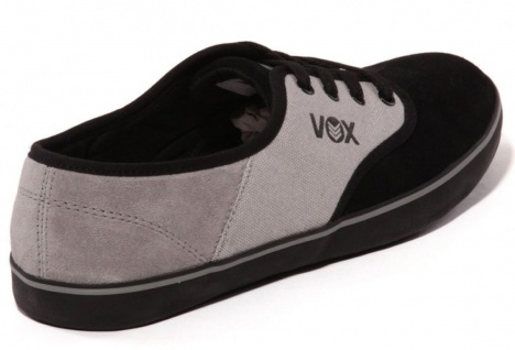 Vox Skateboard Schuhe Parlor Black/Gray/Black