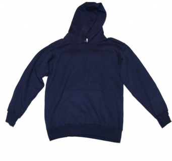 Hanes Skateboard Hoodies Sweater Men Blue Sweater
