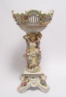 Casa Padrino Barock Porzellan Schale - Rokoko Antik Stil