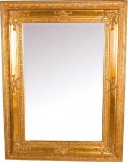 Casa Padrino Barock Wandspiegel Gold Höhe 120 cm, Breite 90 cm - Edel & Prunkvoll - Vintagelook - Handgefertigt