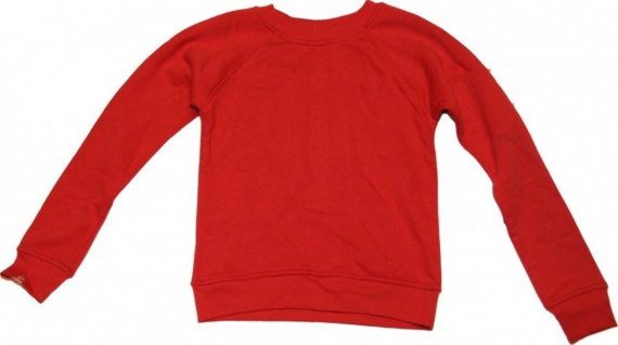 Rules Skateboard Pullover Red Sweater