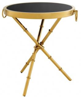 Casa Padrino Luxus Designer Beistelltisch 52 x H. 60 cm - Limited Edition