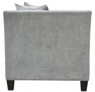 Casa Padrino Luxus Chesterfield Samt Sofa mit Kissen 174, 5 x 91 x H. 86 cm - Verschiedene Farben - Wohnzimmer Möbel - Chesterfield Möbel - Vorschau 3