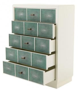 Casa Padrino Luxus Mahagoni Schrank 96, 5 x 47, 5 x H. 130 cm - Designer Möbel - Vorschau 2